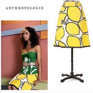 Anthropologie | Odille Lemon Skirt 8